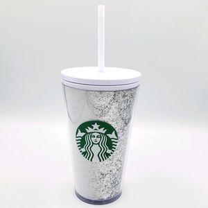 Starbucks holiday silver glitter grande tumbler